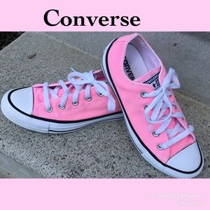 ☀️NEW IN CLOSET☀️ Converse pink shoes